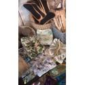 Carré démaquilant bambou et coton bio